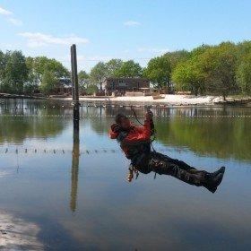 Het Avontuur, Zipline water 3 en overzicht Sensatie