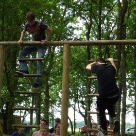 Hindernisbaan, ladders 1